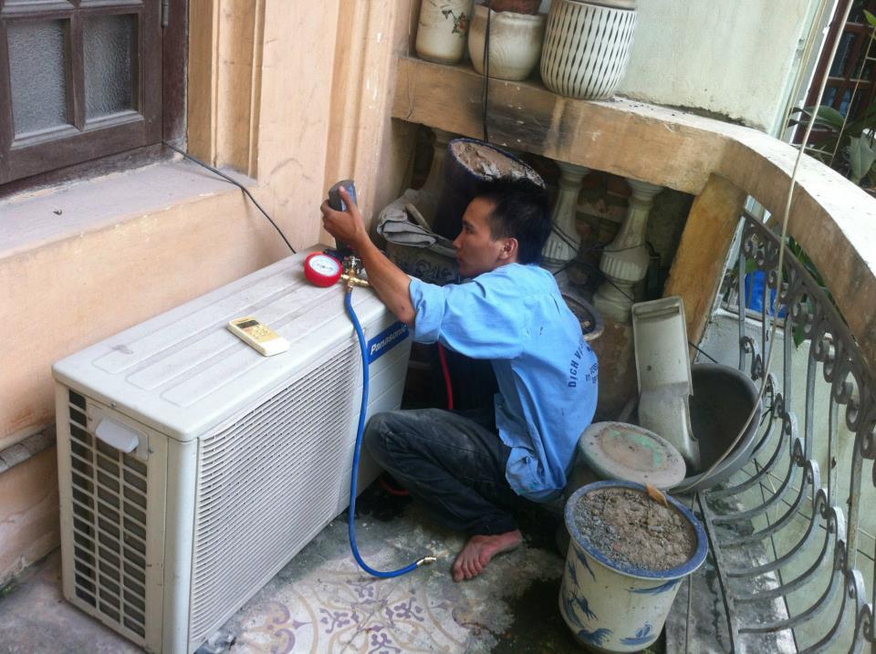 kiểm tra các đường dây hệ thống hoạt động tình trạng gas