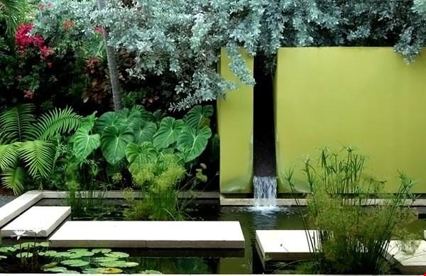 Thêm nguồn nước để ngồi nhà hợp phong thủy và mát mẻ hơn