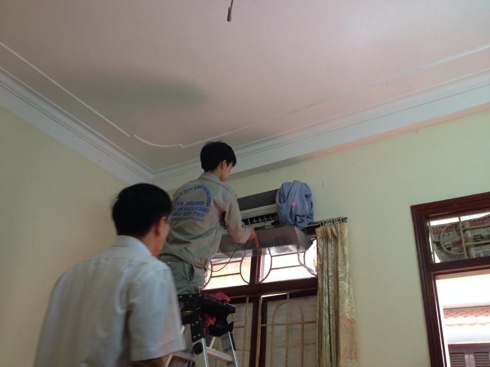 Sửa điều hòa tại nhà luôn sự an toàn và chất lượng lên hàng đầu