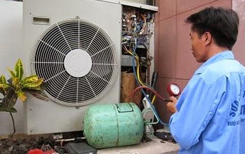 Bơm gas điều hòa ngay khi điều hòa hết ga