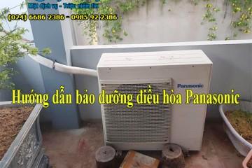 Hướng dẫn bảo dưỡng điều hòa Panasonic