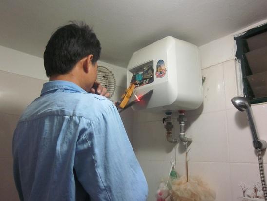 Dịch vụ sửa bình nóng lạnh không lên nguồn