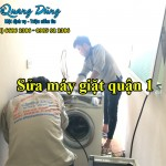 Sửa máy giặt quận 1 uy tín số TpHCM | Chỉ 30 phút thợ tới