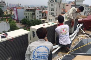 Bảo dưỡng máy điều hòa tại Kim Mã