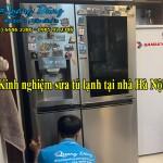 Kinh nghiệm sửa tủ lạnh tại nhà Hà Nội