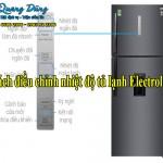 Cách điều chỉnh nhiệt độ tủ lạnh Electrolux