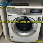 10 lỗi máy giặt electrolux thường gặp và cách khắc phục
