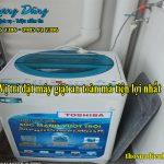Vị trí đặt máy giặt an toàn mà tiện lợi nhất