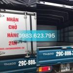 Nhận Chở Hàng Thuê Tại Hà Nội
