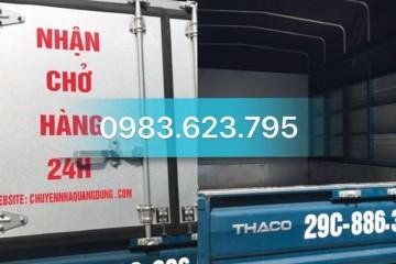 Nhận Chở Hàng Thuê Tại Hà Nội Cam Kết 100% Không Chém