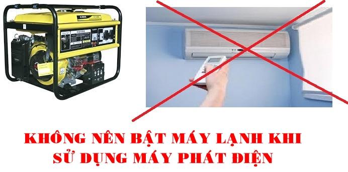 dung-may-phat-dien-cho-may-lanh-duoc-khong