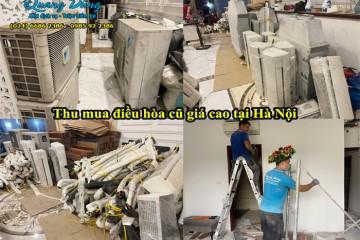 Thu mua điều hòa cũ giá cao tại Hà Nội