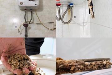 Cách xả hết nước trong bình nóng lạnh để loại bỏ cặn bẩn
