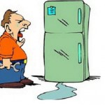 Mách Bạn Mẹo Nhỏ Khi Tủ Lạnh Chảy Nước Và Cách Khắc Phục