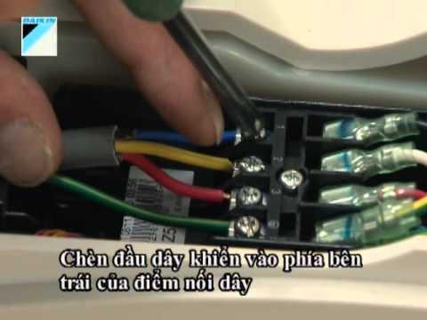 cách đấu dây điện điều hòa