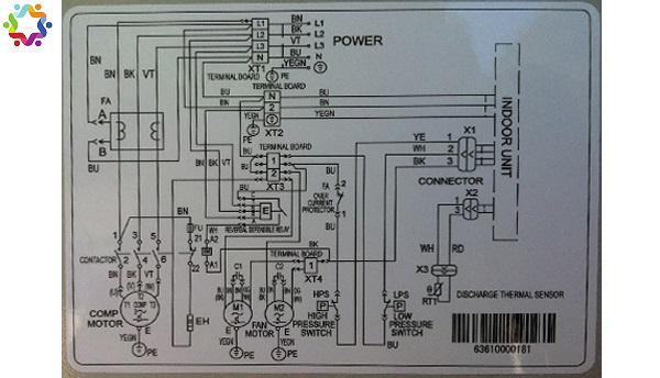 sơ đồ mạch điện máy lạnh inverter